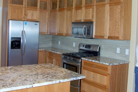 Parade home kitchen