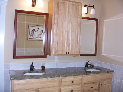 bathroom 1645 lake drive